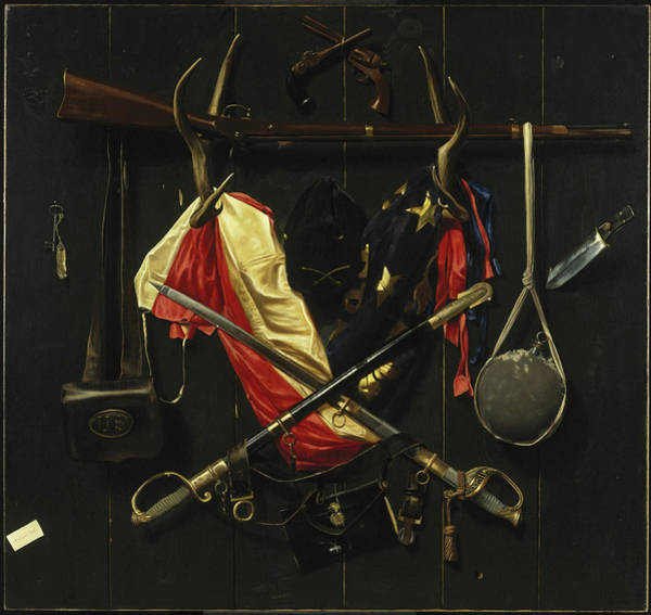Painting - Emblems Of The Civil War by Alexander Pope