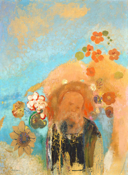 Painting - Evocation Of Roussel by Odilon Redon