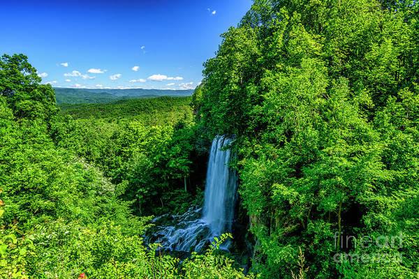 Photograph - Falling Spring Falls by Thomas R Fletcher