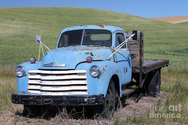 Wall Art - Photograph - Farm Truck by Rick Mann