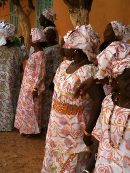 Dakar Photograph - Femmes De Goree by Fania Simon