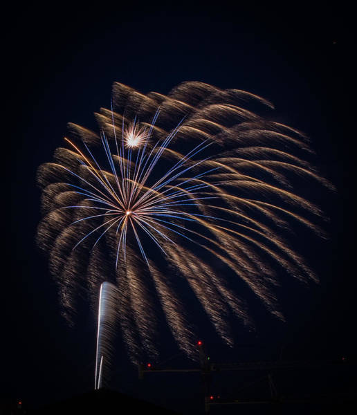 Photograph - Fireworks 2015 Sarasota 34 by Richard Goldman
