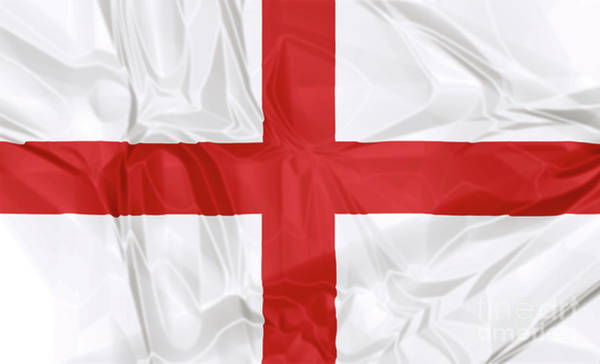 Digital Art - Flag Of England by Benny Marty