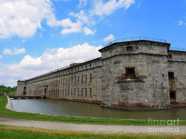 Delaware State Park Wall Art - Photograph - Fort Delaware On Pea Patch Island Delaware by Louise Heusinkveld