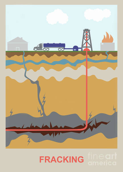 Wall Art - Photograph - Fracking by Gwen Shockey