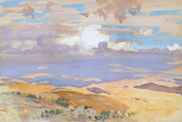 Drawing - From Jerusalem by John Singer Sargent