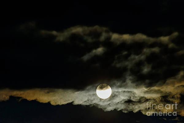 Photograph - Full Moon  by Thomas R Fletcher