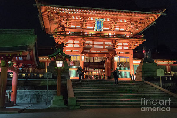 Photograph - Fushimi Inari Taisha, Kyoto Japan by Perry Rodriguez