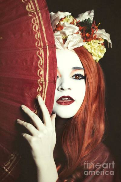 Cosplay Photograph - Geisha Girl by Amanda Elwell