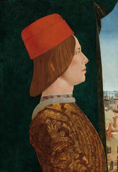 Painting - Giovanni II Bentivoglio by Ercole De' Roberti