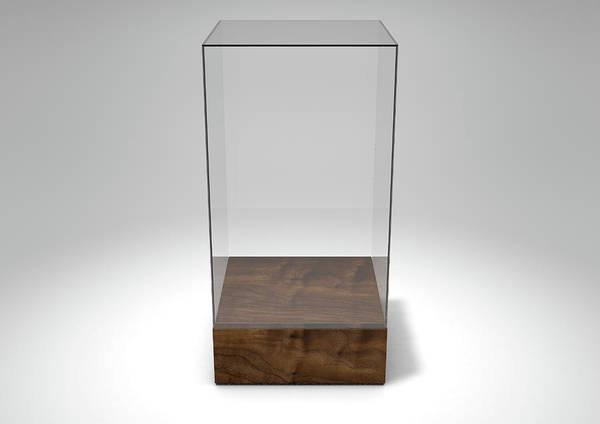 Show Business Wall Art - Digital Art - Glass Display Case by Allan Swart