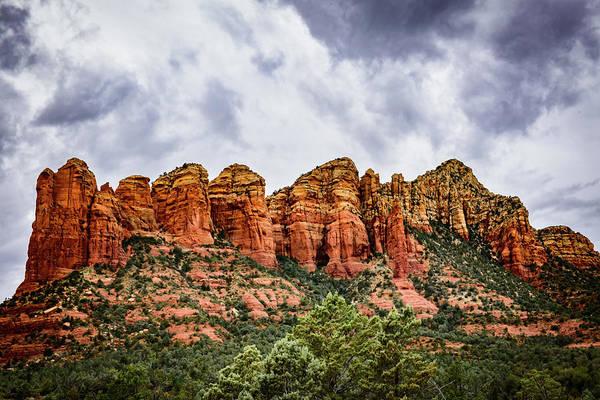 Wall Art - Photograph - 3 Gods Mountain - Sedona Arizona by Jon Berghoff