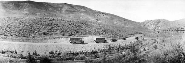 Caravan Photograph - Goodyear Wingfoot Express by Underwood Archives
