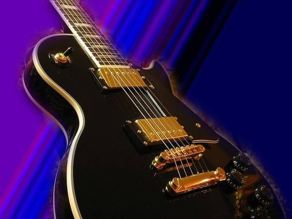 Celebrity Digital Art - Guitar by Super Lovely