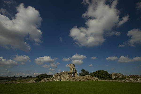 Southend Photograph - Hadleigh Castle Essex by David French