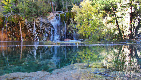 Art Print featuring the photograph Hanging Lake by Kate Avery
