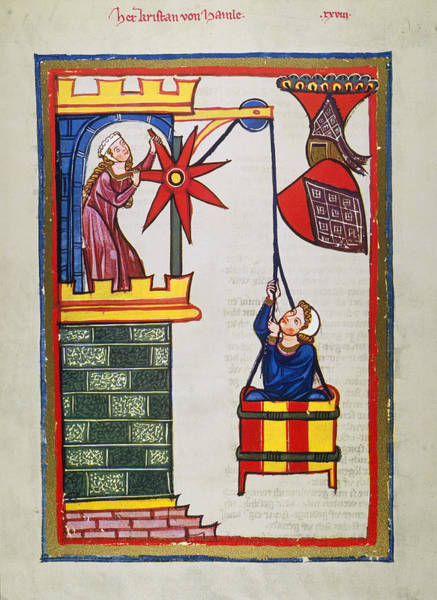 Photograph - Heidelberg Lieder, 14th C by Granger
