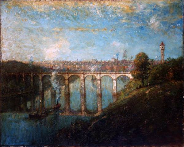 Ward Painting - High Bridge New York by Henry Ward Ranger