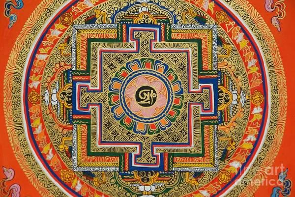 Satanism Digital Art - Hindu Mandala by Frederick Holiday