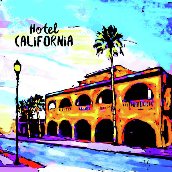 Wall Art - Painting - Hotel California by Ivan Guaderrama
