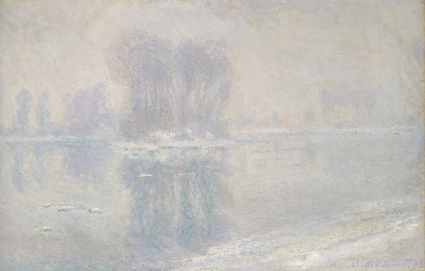 Painting - Ice Floes by Claude Monet