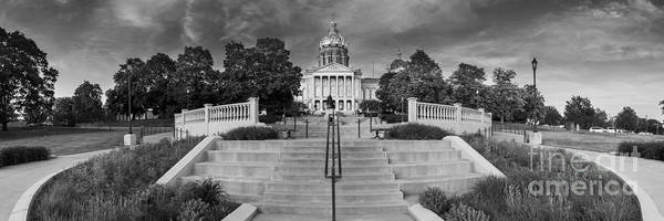Wall Art - Photograph - Iowa State Capitol Building by Twenty Two North Photography