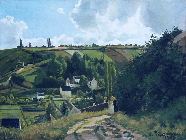 Painting - Jalais Hill, Pontoise by Camille Pissarro