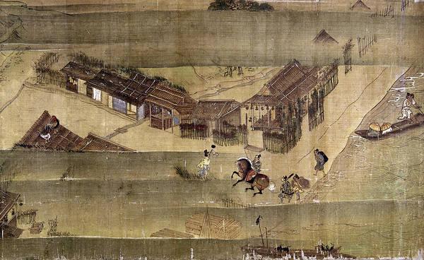 Feudal Japan Wall Art - Photograph - Japan: Buddhist Priest by Granger