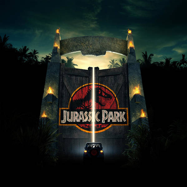 Wall Art - Digital Art - Jurassic Park 1995  by Geek N Rock