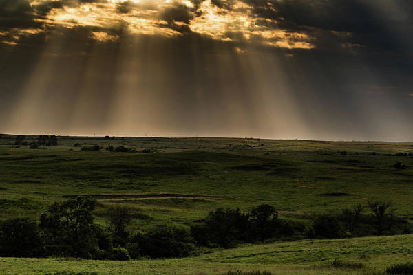 Photograph - Kansas Sunset by Jay Stockhaus