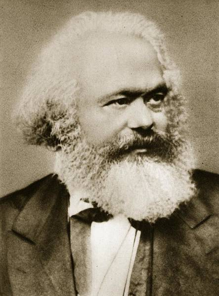 Theorist Wall Art - Photograph - Karl Marx by Unknown