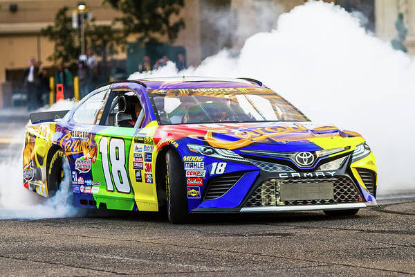 James Photograph - Kyle Busch  by James Marvin Phelps