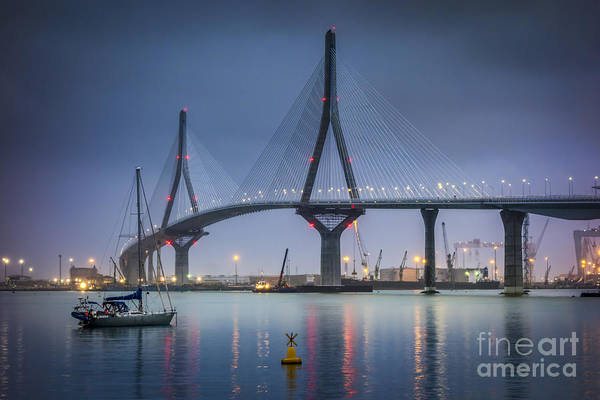 Photograph - La Pepa Bridge Cadiz Spain by Pablo Avanzini