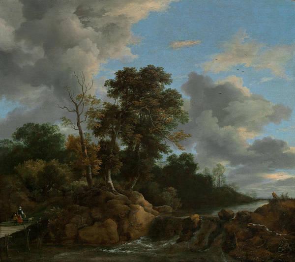 Painting - Landscape by Jacob Van Ruisdael