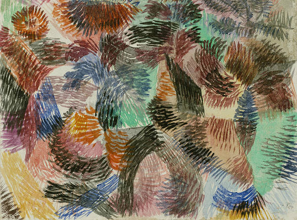 Drawing - Libido Of The Forest by Paul Klee