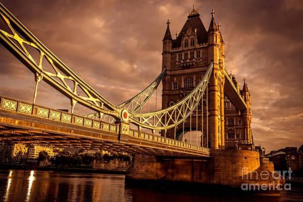 Photograph - London Tower Bridge. by Nigel Dudson