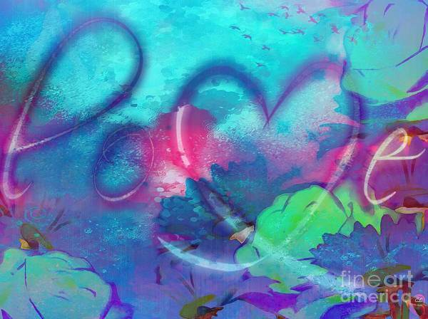 Painting - Love by Catherine Lott