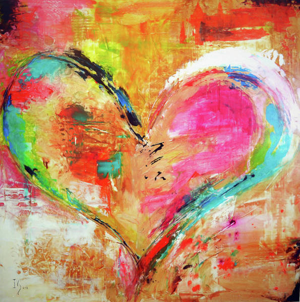 Wall Art - Painting - Love Is Divine by Ivan Guaderrama
