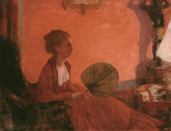 Painting - Madame Camus by Edgar Degas