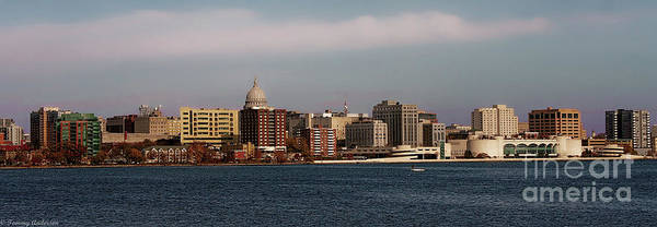 Lake Monona Photograph - Madison Wisconsin by Tommy Anderson
