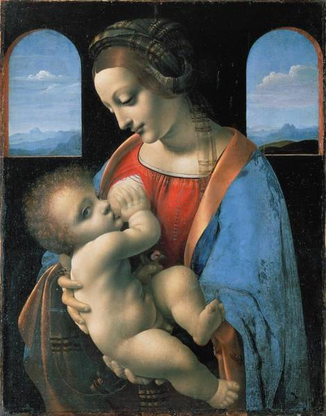Painting - Madonna Litta by Leonardo Da Vinci