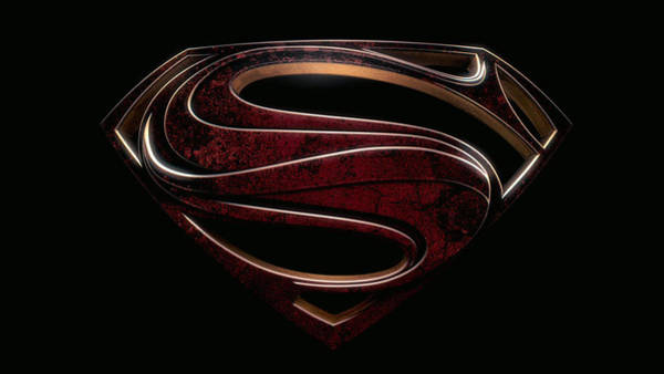 Digital Paint Digital Art - Man Of Steel 2013 by Geek N Rock