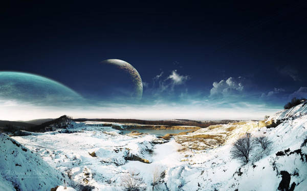 Landscape Digital Art - Manipulation by Maye Loeser