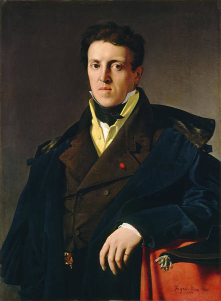 Painting - Marcotte D'argenteuil by Jean-Auguste-Dominique Ingres