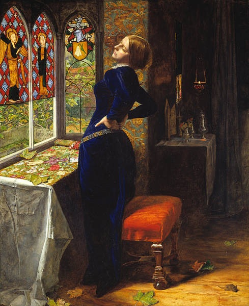 Painting - Mariana by John Everett Millais