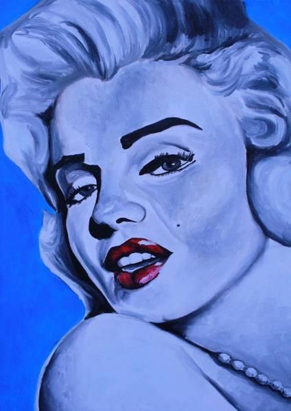 Wall Art - Painting - Marilyn Monroe by Mikayla Ziegler