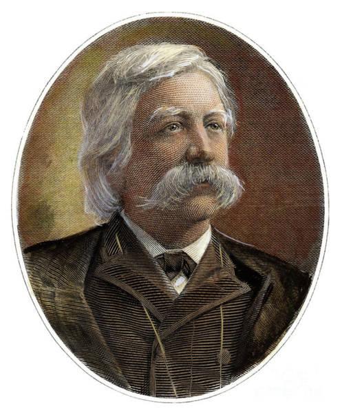 20th Century Man Drawing - Melville Fuller, 1833-1910 by Granger