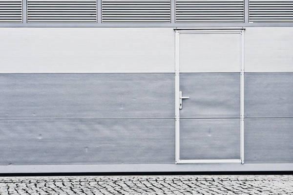 Multi-storey Wall Art - Photograph - Metal Door by Tom Gowanlock