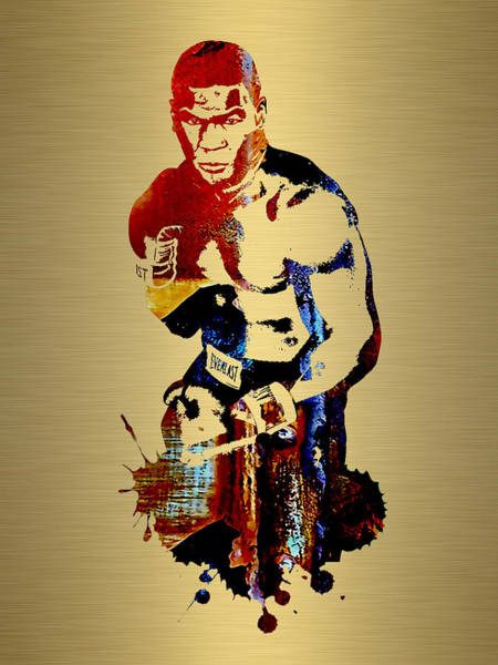 Boxing Mixed Media - Mike Tyson Collection by Marvin Blaine