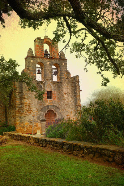 Mission Photograph - Mission Espada by Iris Greenwell